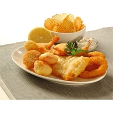 Picture of Pacific West Frozen Seafood Basket Box 20 x 230g