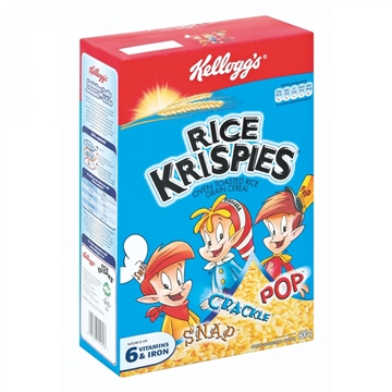 Picture of Kellogg's Rice Krispies Vanilla Cereal 600g