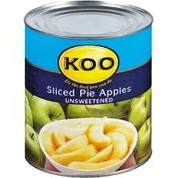 Picture of Koo Unsweetened Pie Apple Slices 385g