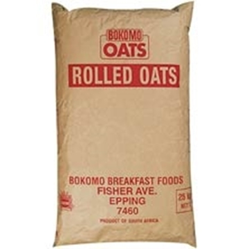 Picture of Bokomo Rolled Oats Porridge Bag 25kg