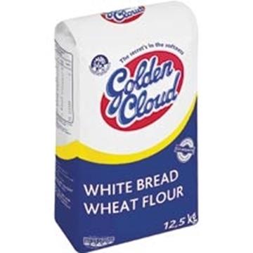 Picture of Golden Cloud White Bread Flour Bag 12.5kg