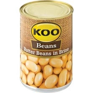 Picture of Koo Butter Beans In Brine 410g