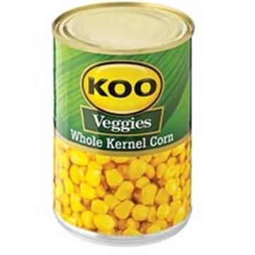 Picture of Koo Veggies Whole Kernel Corn 410g