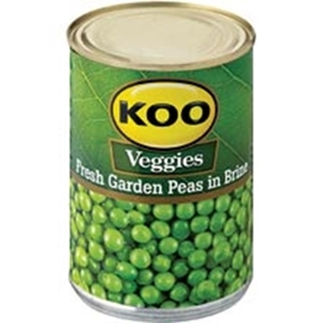 Picture of Koo Fresh Garden Peas In Brine 410g
