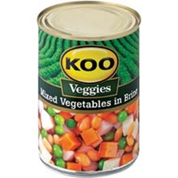 Picture of Koo Mixed Vegetables In Brine 410g