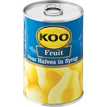 Picture of Koo Pear Halves Can 410g