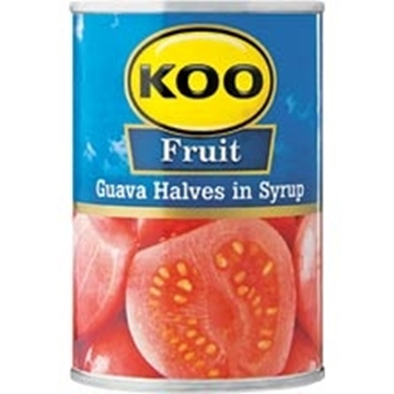 Picture of Koo Guava Halves In Syrup 410g