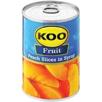 Picture of Koo Peach Slices in Syrup 410g