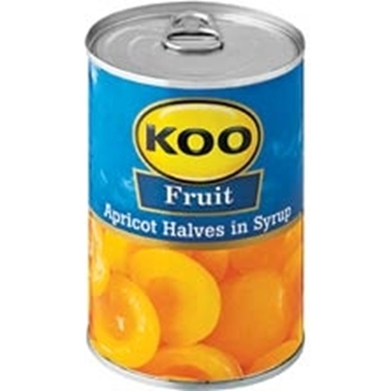 Picture of Koo Apricot Halves Can 410g