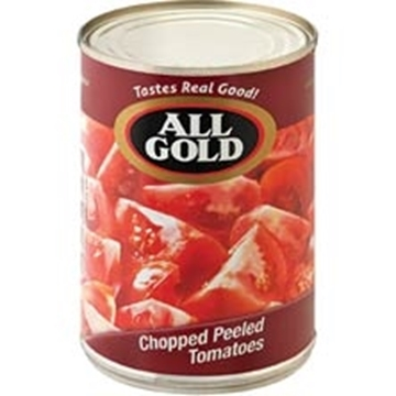 Picture of All Gold Diced Peeled Tomatoes 410g