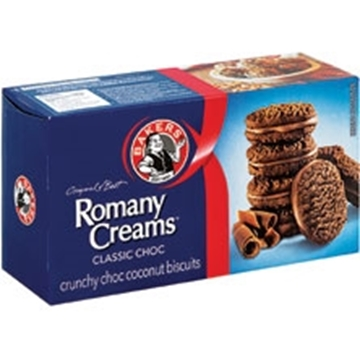 Picture of Romany Creams Classic Choc Biscuits Pack 200g