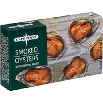 Picture of Cape Point Smoked Oysters In Oil 85g