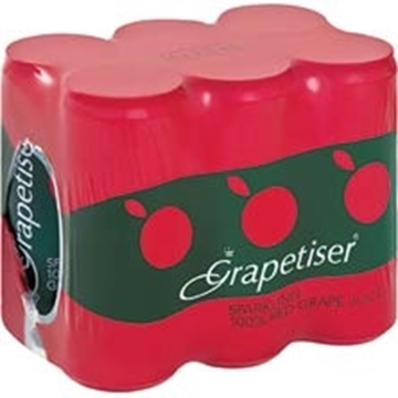 Picture of Grapetiser Red Can 6 x 330ml