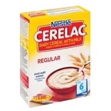 Picture of Nestle Cerelac Regular Baby Cereal With Milk 250g
