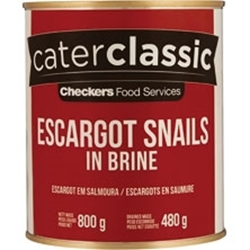 Picture of Caterclassic Snails In Brine Can 800g