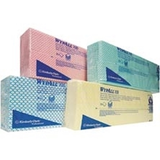 Picture of Wypall Red Cleaning Cloth x 80 Pack 25s