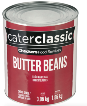 Picture of Caterclassic Butter Beans Can 3.06kg