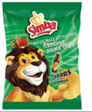 Picture of Simba Ms Balls Chutney Chips Box 48 x 36g