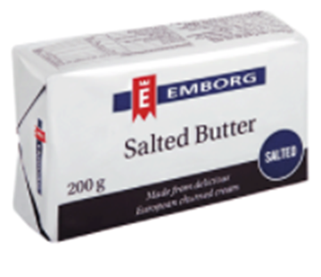Picture of BUTTER SALTED EMBORG 20X200G PACK