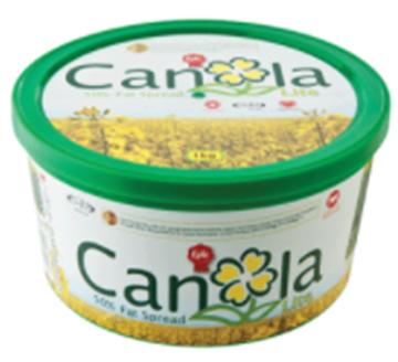 Picture of Blossom Canola Lite Margarine Tub 12 x 1kg