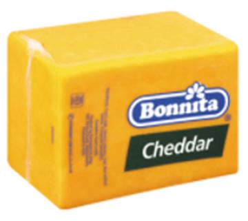 Picture of Bonnita Mature Cheddar Loaf RDW 2.5kg