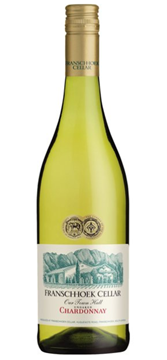 Picture of Franschhoek Unoaked Chardonnay Bottle 750ml