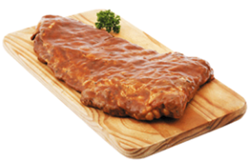 Picture of Frozen Raw Pork Loin Ribs Box 10kg