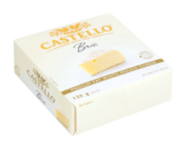 Picture of Castello Soft Danish Brie Cheese 125g