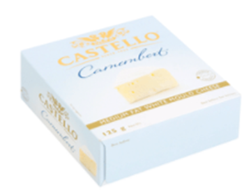 Picture of Castello Soft Danish Camembert Cheese 125g