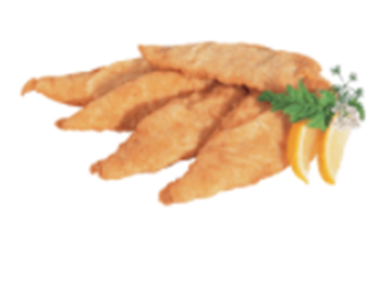 Picture of Atlantis Seafood Frozen AA Battered Hake Box 9kg