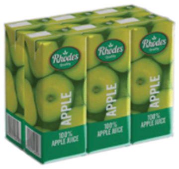 Picture of Rhodes Apple Juice Pack 6 x 200ml