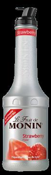 Picture of Monin Strawberry Puree Bottle 1l