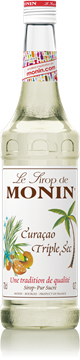 Picture of Monin Triple Sec Curacao Sundried Orange Syrup 1l