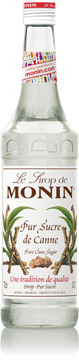 Picture of Monin Pure Cane Sugar Syrup Bottle 1l