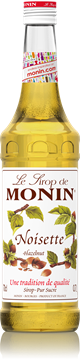 Picture of Monin Roasted Hazelnut Syrup Bottle 1l