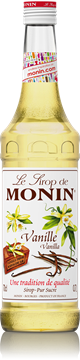 Picture of Monin Vanilla Syrup Plastic Bottle 1l
