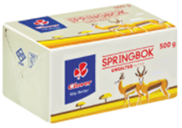 Picture of BUTTER UNSALTED SPRINGBOK 30X500G BOX