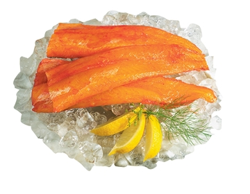 Picture of FRZ HADDOCK FILLET SMOKED 4/6 5KG BOX