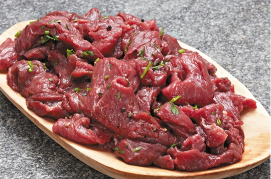 Picture of Caterclassic Frozen Beef Strips Box 5kg