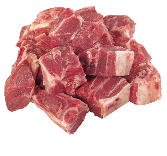 Picture of Caterclassic Frozen Stewing Lamb Bone-In 2 x 2.5kg