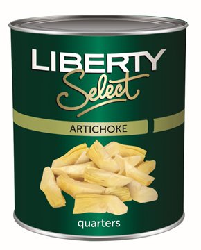 Picture of ARTICHOKE QUARTERS LIBERTY SELECT 400G CAN