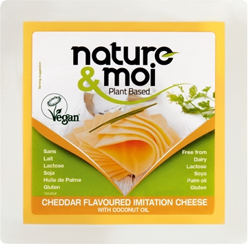 Picture of Nature & Moi Vegan Cheddar Cheese Pack 200g