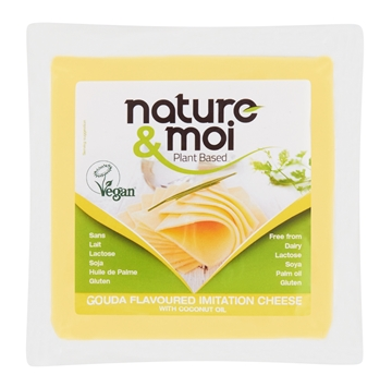 Picture of Nature & Moi Vegan Gouda Cheese Pack 200g