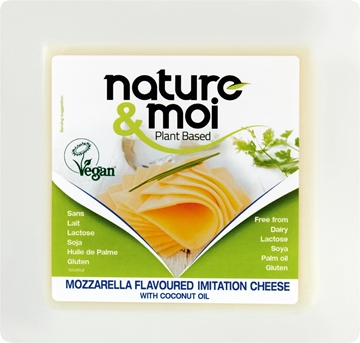 Picture of Nature & Moi Vegan Mozzarella Cheese Pack 200g