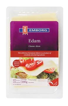 Picture of Emborg Edam Cheese Slices Pack 150g