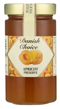 Picture of Danish Choice Apricot Jam Jar 454g