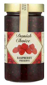 Picture of Danish Choice Raspberry Jam 454g