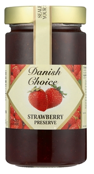 Picture of Danish Choice Stawberry Jam Jar 454g
