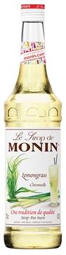 Picture of Monin Lemongrass Syrup Bottle 700ml