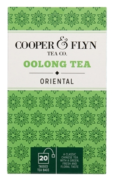 Picture of Cooper & Flyn Oolong Teabags Pack 20s
